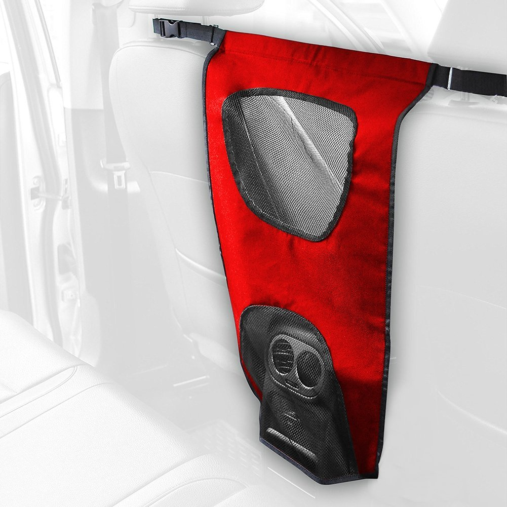 Buy Pet Safety Net Car Suv Truck Van Seat Mesh Dog Barrier
