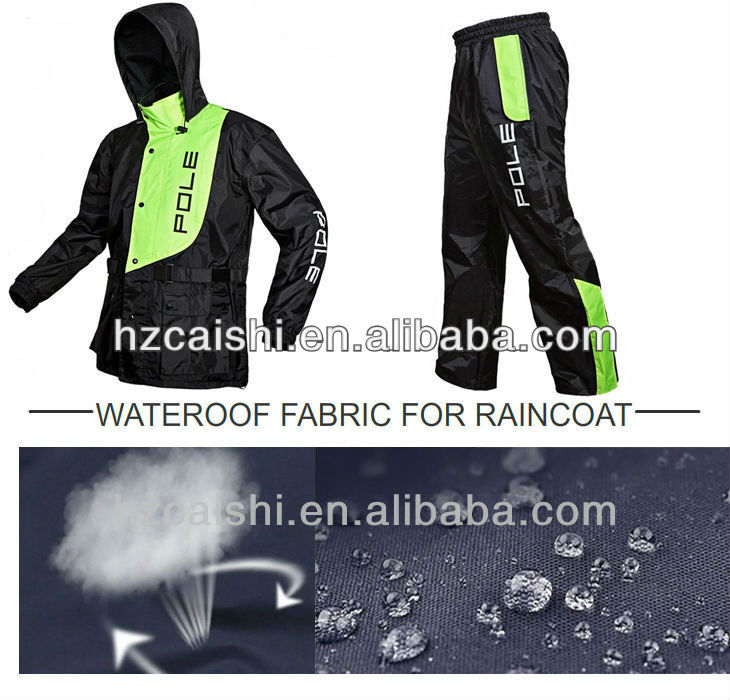 csb3126 400D PU FDY WATER PROOF 100% POLYSTER OXFORD FABRIC FOR THE RAINCODE FROM HANGZHOU CHINA