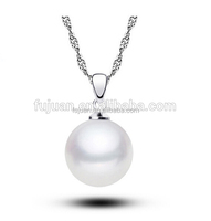 Fashion pearl necklace costume jewelry wholesale