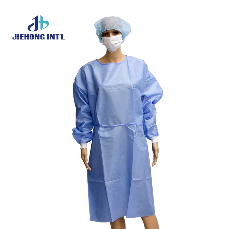 disposable surgical paper gown medical supplies