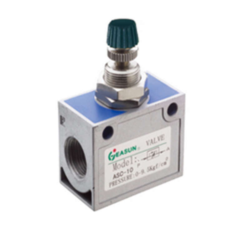 China Manufacturer 1/8 Inch Port Thread Unidirectional Flow Control Valve