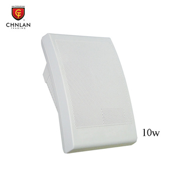 Chnlan Hot sale stereo sound system PA in wall speaker 10w 100v