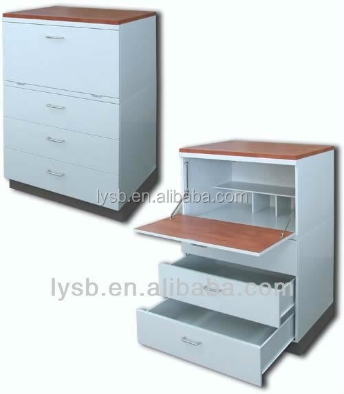kitchen cabinet/ high quality hot sale modern design KD steel cabinet