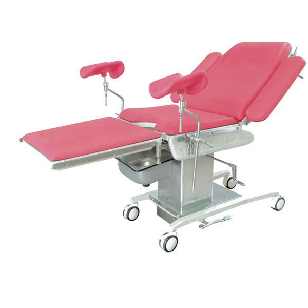 Mechanical Hospital Baby Deliverying Bed/Manual Gyn Exam Couch/Maternity Electric Chair