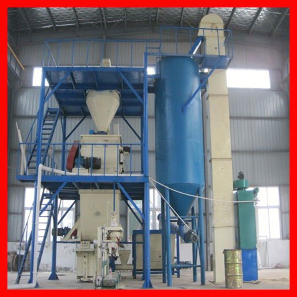 simple tile adhesive mortar production line low cost less occupation area