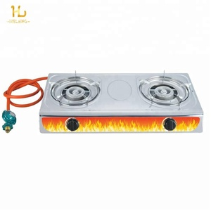 Double Burner Tabletop Cooker/Gas Stove
