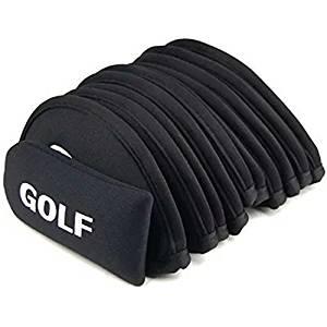 Edealing 1SET Golf Iron Club Set Covers Case Putter Head Neoprene Pockets Sport Sets