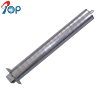 Stainless steel gas fireplace heater 50mm Straight tube burners