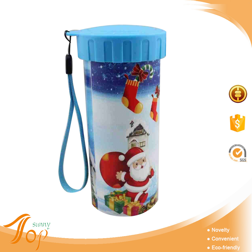 Hot Sale Christmas Design Very Cheap Water Bottle Gift Items