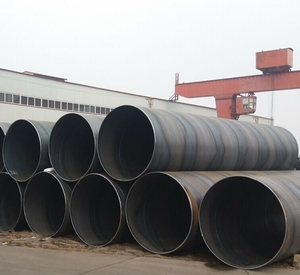 API 5L PSL2 X42 SSAW 3PE Anti-corrosion spiral welded steel pipe