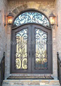 Iron Main Entrance Doors Grill Design Fd 584 Buy Iron