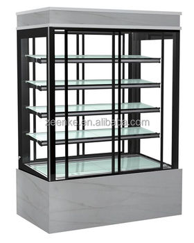 Upright Cake Showcase Pasetry Display Cabinet Refrigerated Case Bakery Displays