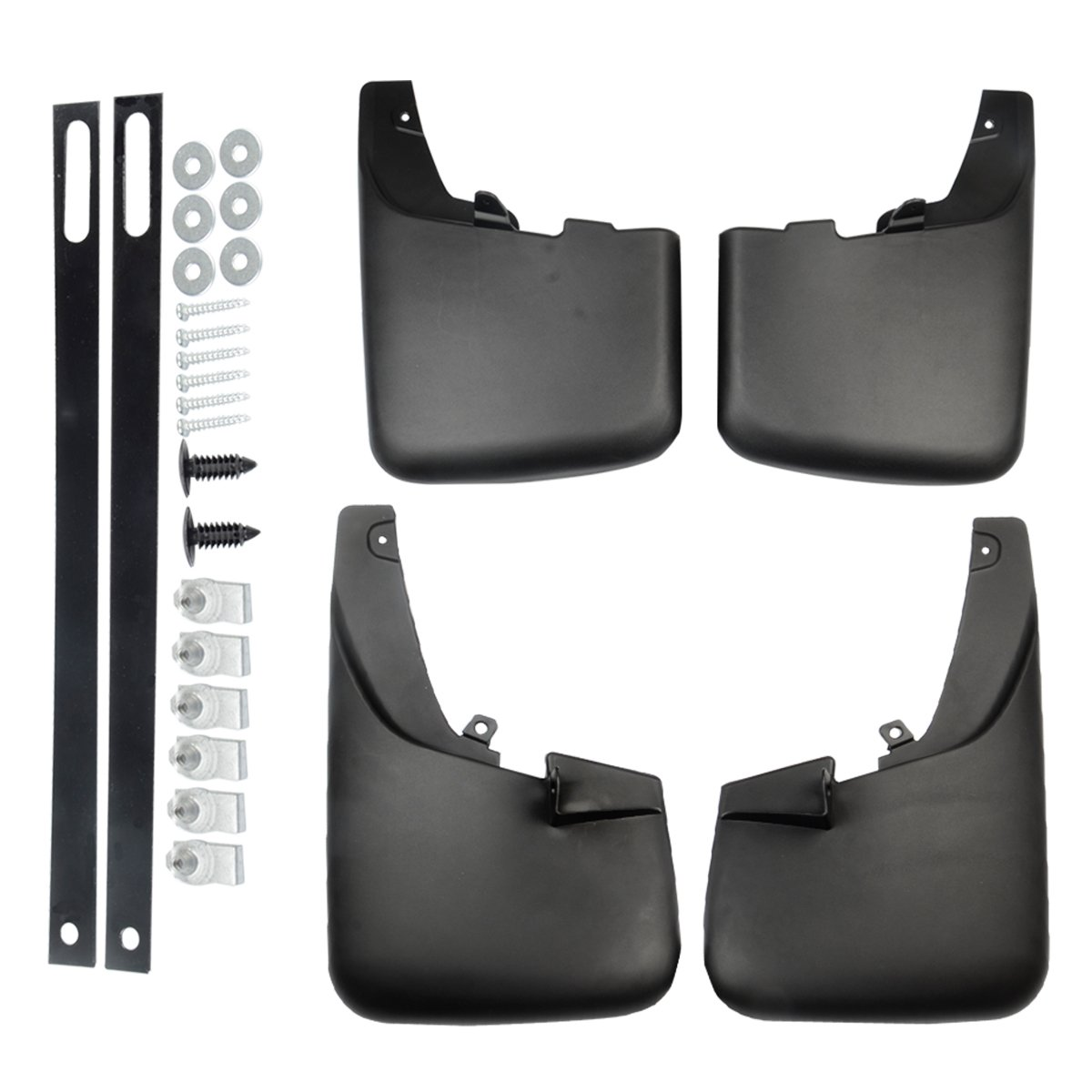 A-Premium Splash Guards Mud Flaps Mudflaps for Ford F-250 F-350 Super Duty 2011-2016 with Factory Fender Flares 4-PC Set