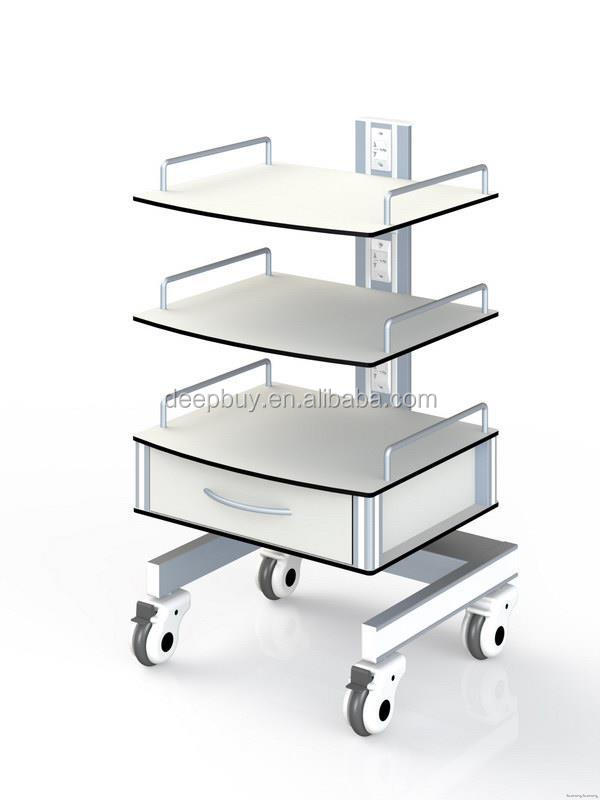 Good quality hot sell medical hospital utility trolley
