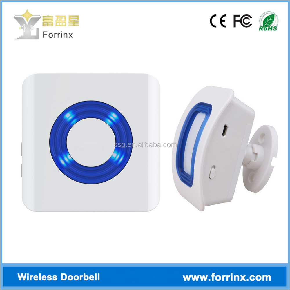 Forrinx K2 Electronic Voice Alert Doorbell with Cheap Mition Sensor