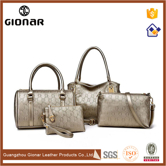 Online Sale Brands Hand Bag Small Satchel Tote PU Leather Women's Handbags
