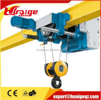 CD1 MD1 Wire Rope 2T Electric Chain Hoist /Chain Block With Emergence Stop
