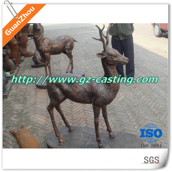 China Supplier Low Price Outdoor Metal Deer Garden Animal ...