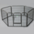 8 Panels Heavy Duty Dog Playpen Large Exercise Fence
