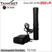 700 lumen bright high power guidesman LED torch flashlight TC128