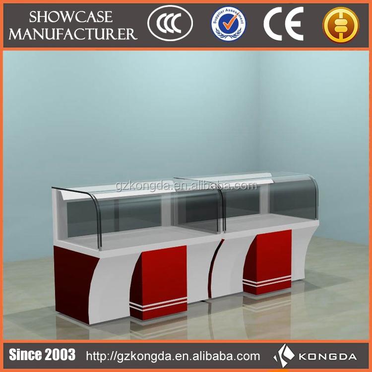 Custom Design Wood Furniture Mobile Phone Shop Counter Buy