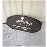 Double sides printing outdoor A frame pop up banner for exhibition event