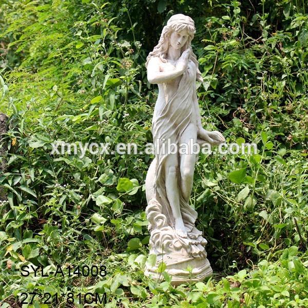 Al aire libre jard n decorativo estatua de hadas para la - Estatuas de jardin ...