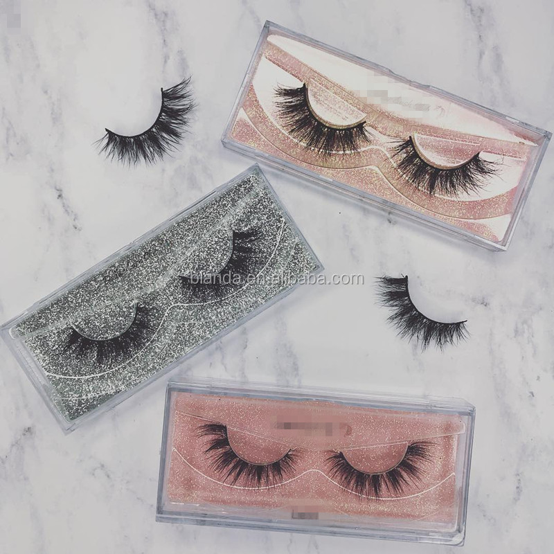 Cruelty Free 25mm Eyelashes 3D Mink Lashes Private Label Eyelashes Extension Free Sample