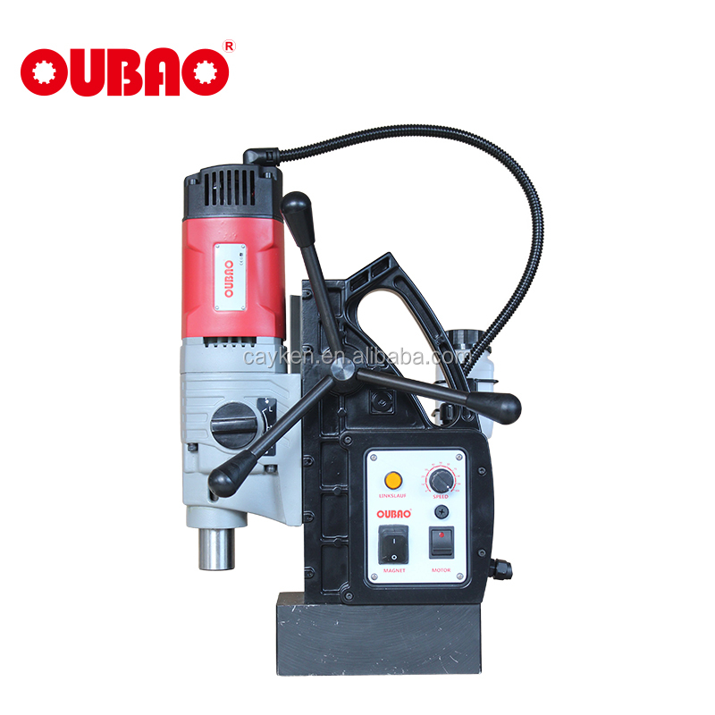 OUBAO three speed magnetic base tapping <strong>drill</strong>