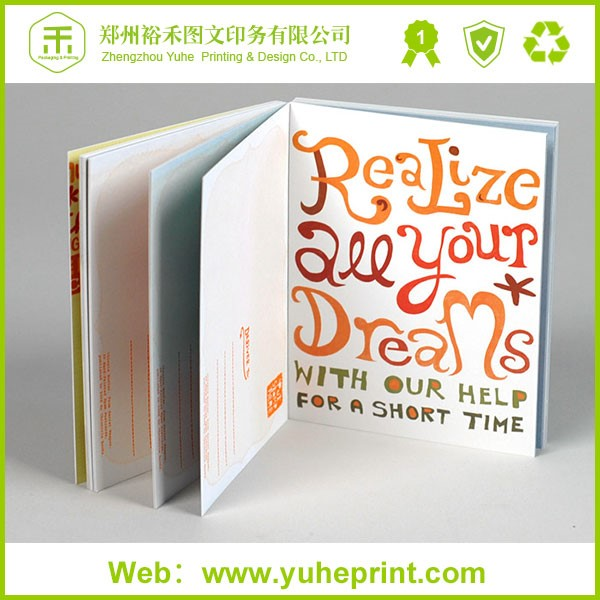 OEM production and good quality hardcover book/custom children book
