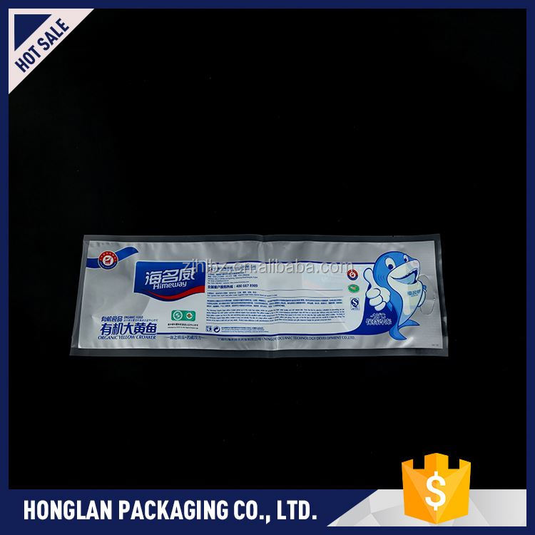 Most popular eco-friendly printed vacuum food packing bag