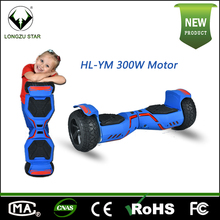 8 Inch kids two wheel smart balance electric scooter with bluetooth speaker