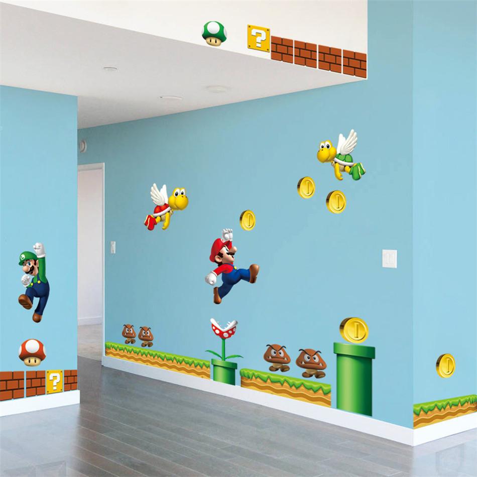 Super Mario Decorations Room