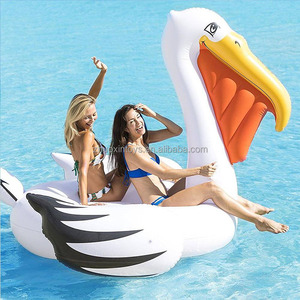 Water party island floats Giant Float Pelican Inflatable Toys for Pool