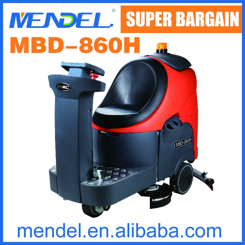 MENDEL MBD860H Ride On Used Marble Concrete Floor Cleaning Machine
