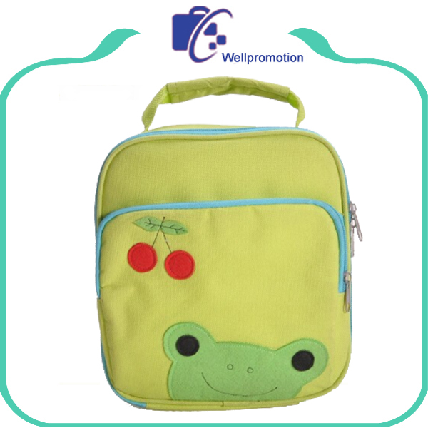 Well promotion factory custom kids lunch cooler bag for food