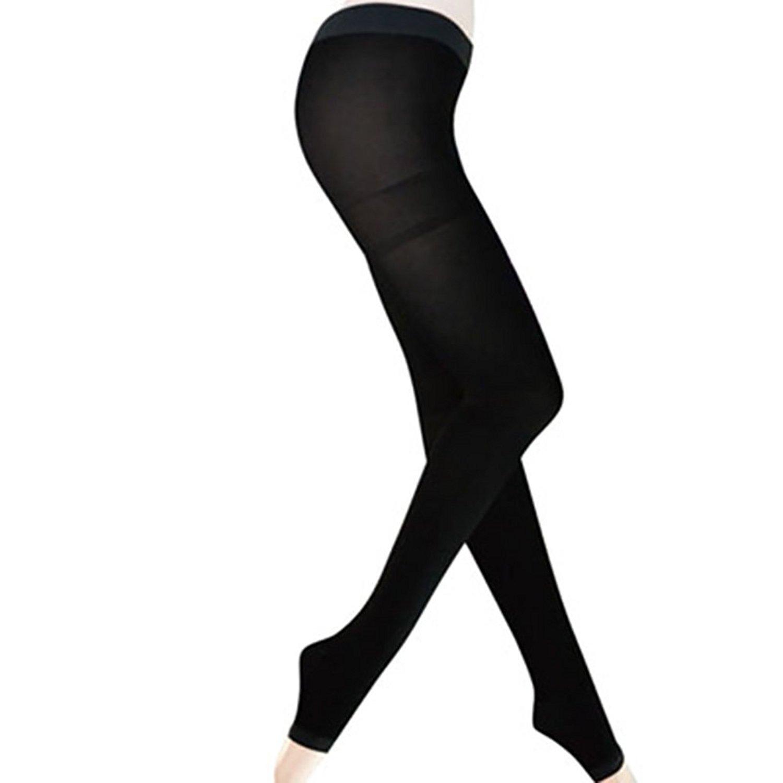 16670137a56 Get Quotations · HEART SPEAKER Women Elastic Long Socks Compression  Pantyhose Slimming Legs Pants Leggings