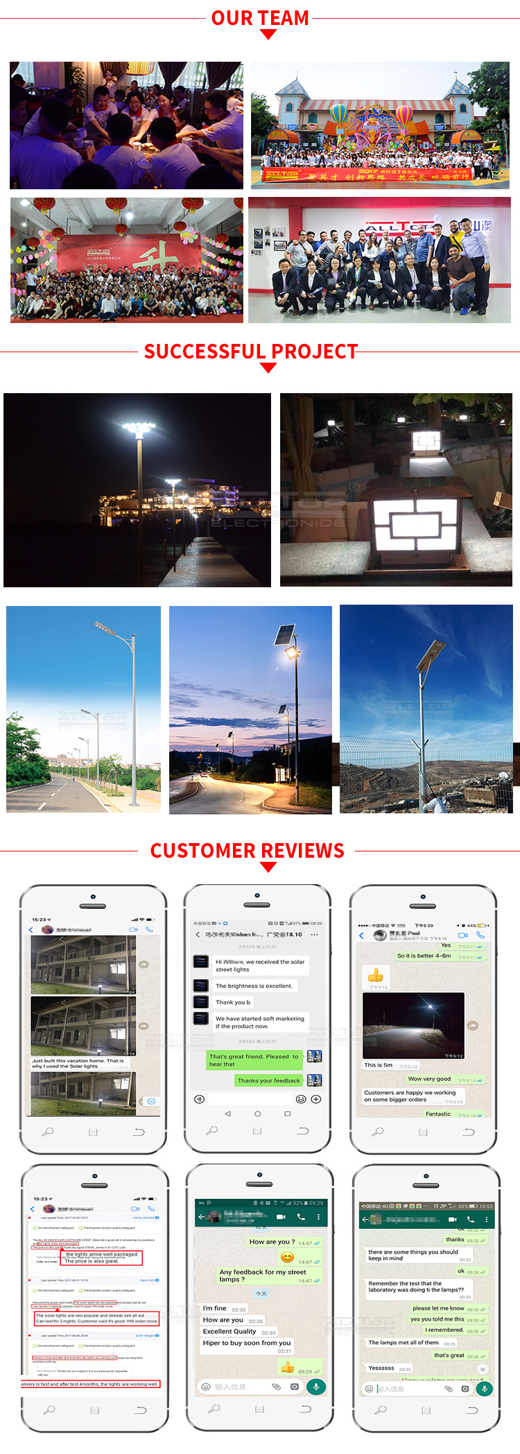 ALLTOP high quality ip65 waterproof heatproof smd 40w 60w100w integrated all in one solar led street light