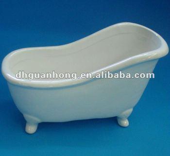 Aprile Nuovo Arrivoin Ceramica Mini Vasca Da Bagno Portasapone Buy