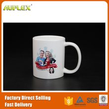 Special 10oz plain white sublimation coating tea cup