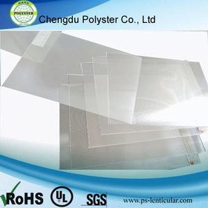 3D Plastic Sheets for 3D Cards,Ad posters,Boxes,calendars