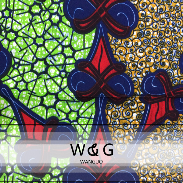 Tissus Wax Africains African Fabric Los Angeles North African ...