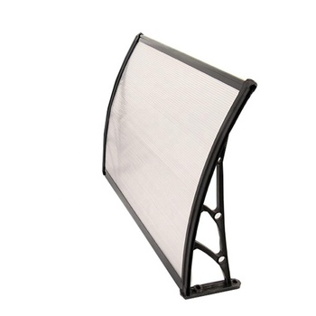 Aluminum front and back bars canopy window sun rain awnings