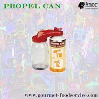 Splendid spray paint propellant cans for art design