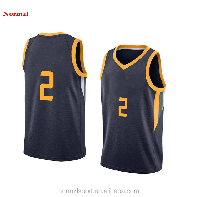 Latest Basketball Jersey Design Color Blue 2018