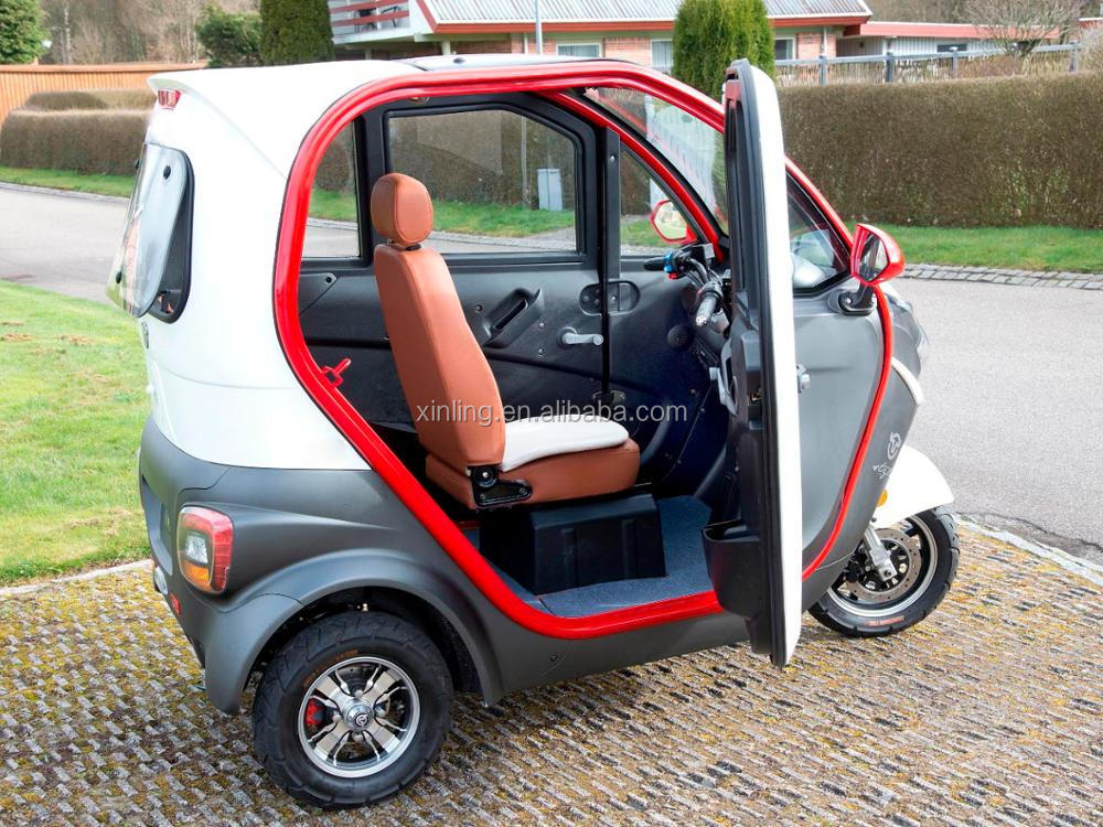 China New Model Electric Cabin Tricycle Trike Mobility