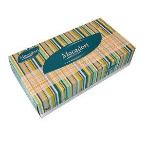Custom Printed Facial Tissue Box 100 sheets Facial Tissue