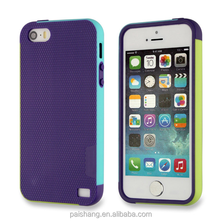 Popular Style colorful phone case for iphone5