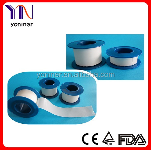 CE&FDA&ISO Strong Glue silk adhesive tape with Shell Easy Tear by Hand