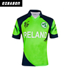 Best quality custom new model digital printing cricket jersey pattern